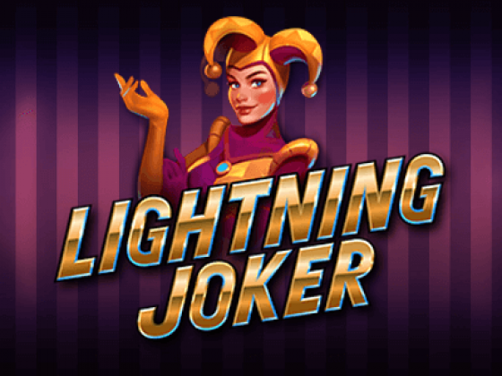 Yggdrasil Gaming's new online slot game 'Lightning Joker' offers wins up to 10,000 times of stake